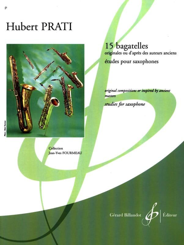 15 Bagatelles - Hubert Prati - Partition - laflutedepan.com