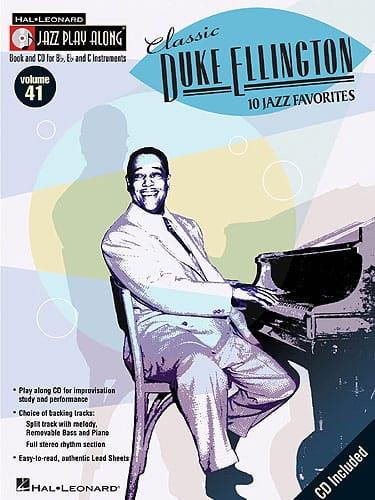 Jazz play-along volume 41 - Classic Duke Ellington - laflutedepan.com