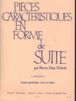 Pierre-Max Dubois - Pieces Features Volume 1 - A Spanish - Partition - di-arezzo.es