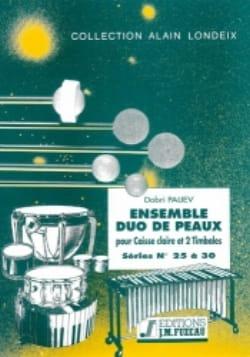 Ensemble Duo de Peaux Séries 25 A 30 - Dobri Paliev - laflutedepan.com