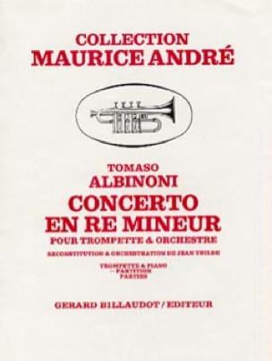 Concerto en Ré Mineur - ALBINONI - Partition - laflutedepan.com
