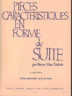 Pièces Caractéristiques Volume 1 - A L'espagnole - laflutedepan.com