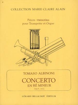 Concerto En Ré Mineur Opus 9 N° 2 ALBINONI Partition laflutedepan