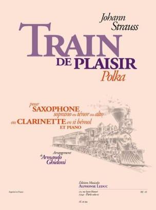 Train de Plaisir - Polka Johann Strauss Partition laflutedepan