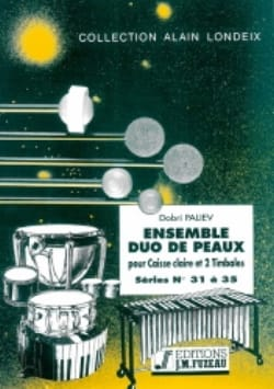 Ensemble Duo de Peaux Séries 31 A 35 Dobri Paliev laflutedepan