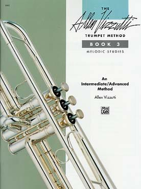Trumpet method volume 3 - Melodic studies Allen Vizzutti laflutedepan