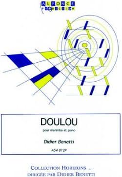 Doulou Didier Benetti Partition Marimba - laflutedepan