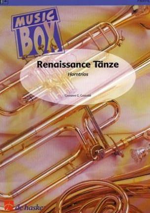 Renaissance tanze - music box Giovanni G. Gastoldi laflutedepan