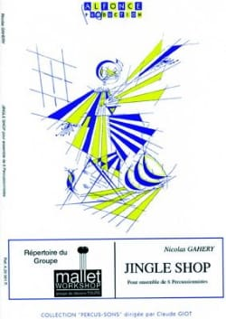 Jingle Shop Nicolas Gahery Partition laflutedepan