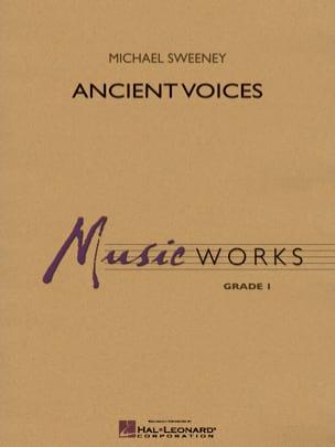 Ancient Voices Michael Sweeney Partition ENSEMBLES - laflutedepan