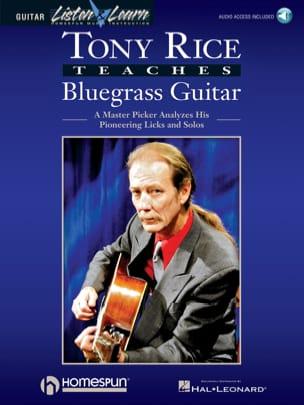 Tony Rice Teaches Bluegrass Guitar Tony Rice Partition laflutedepan