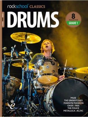 Rockschool Classics Drums - Grade 1 2018+ - laflutedepan.com