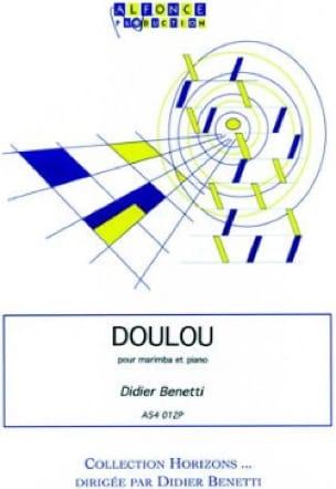 Doulou - Didier Benetti - Partition - Marimba - laflutedepan.com