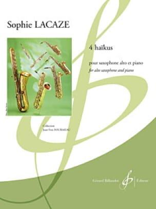 4 Haïkus - Sophie Lacaze - Partition - Saxophone - laflutedepan.com