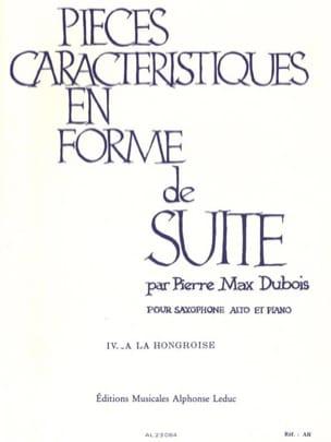 Pièces Caractéristiques Volume 4 - A la Hongroise laflutedepan