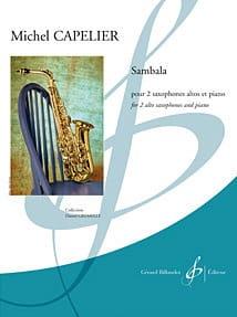 Sambala Michel Capelier Partition Saxophone - laflutedepan