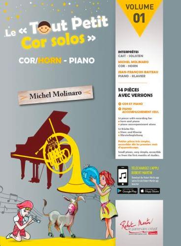 Le Tout Petit Cor Solos - Volume 1 - Partition - laflutedepan.com