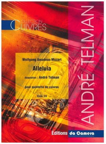 Alleluia - Quintette de cuivres - MOZART - laflutedepan.com