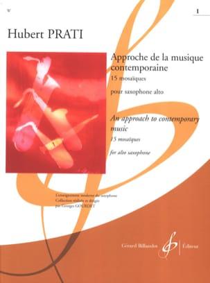 Approche de la Musique Contemporaine - 15 Mosaïques, Volume 1 laflutedepan