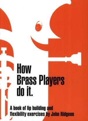 How Brass Players Do It John Ridgeon Partition laflutedepan