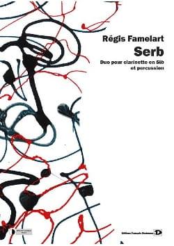 Serb Régis Famelart Partition Multi Percussions - laflutedepan