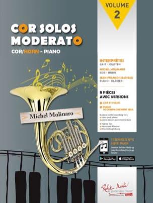 Cor Solos Moderato - Volume 2 Partition Cor - laflutedepan