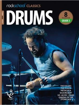 Rockschool Classics Drums - Grade 3 2018+ - laflutedepan.com