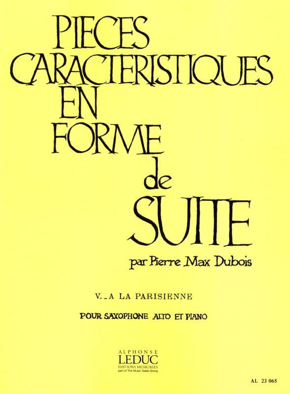 Pièces Caractéristiques Volume 5 - A la Parisienne - laflutedepan.com