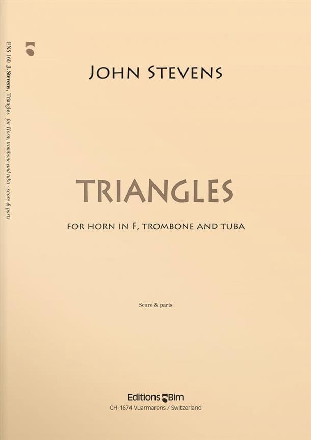 Triangles - John Stevens - Partition - laflutedepan.com