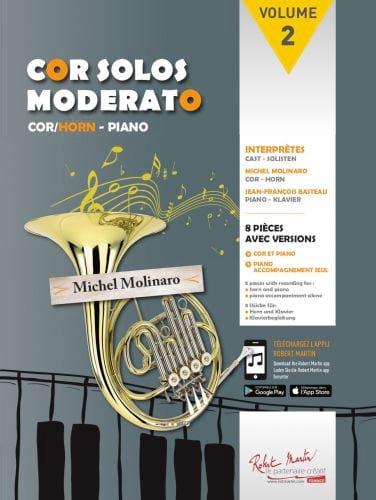 Cor Solos Moderato - Volume 2 - Partition - Cor - laflutedepan.com
