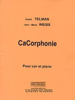 CaCorphonie André TELMAN & Jean-Marie WEISS Partition laflutedepan