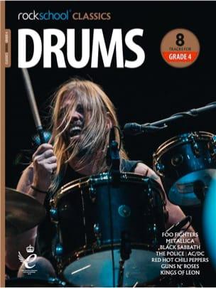 Rockschool Classics Drums - Grade 4 2018+ - laflutedepan.com
