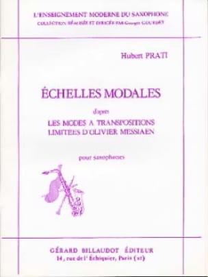 Echelles Modales - Hubert Prati - Partition - laflutedepan.com