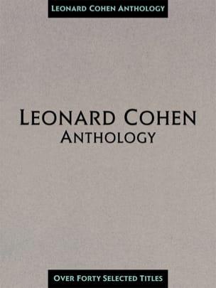Leonard Cohen - Leonard Cohen Anthology 40 Lieder - Partition - di-arezzo.de