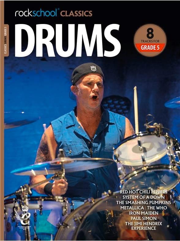 Rockschool Classics Drums - Grade 5 2018+ - laflutedepan.com