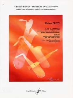 Les Gammes Conjointes Hubert Prati Partition Saxophone - laflutedepan