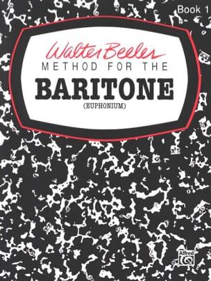 Method For The Baritone Volume 1 Walter Beeler Partition laflutedepan