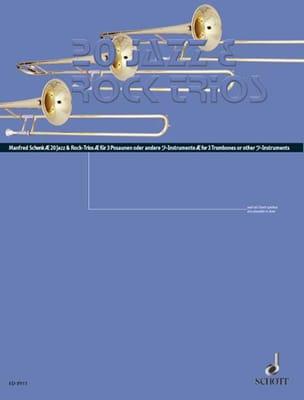 20 Jazz & Rock Trios Manfred Shenk Partition Trombone - laflutedepan