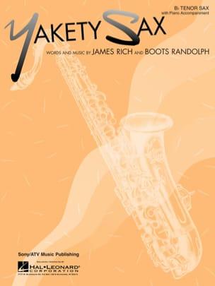 Yakety Sax - Randolph Boots - Partition - Saxophone - laflutedepan.com