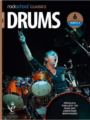 Rockschool Classics Drums - Grades 6-8 Compendium - laflutedepan.com