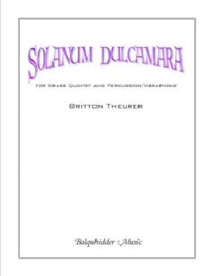 Solanum Dulcamara - Britton Theurer - Partition - laflutedepan.com
