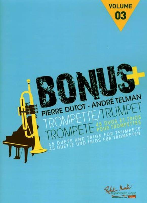 Bonus Plus - Volume 3 - Pierre Dutot & André Telman - laflutedepan.com