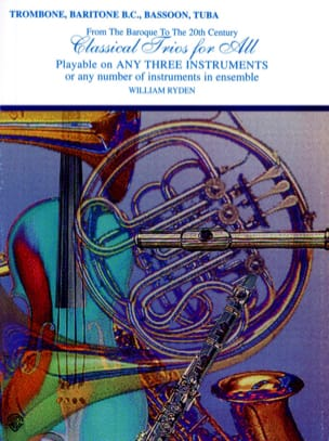 Classical Trios for All Partition Trombone - laflutedepan