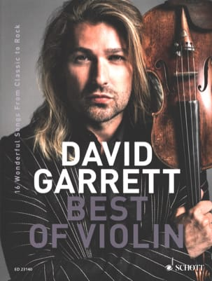 Best of Violin David Garrett Partition Violon - laflutedepan