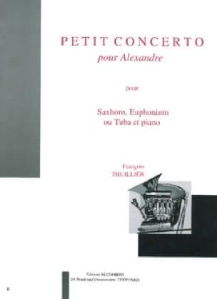 Petit Concerto Pour Alexandre - François Thuillier - laflutedepan.com