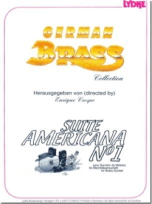 Suite Americana N° 1 - Quintette de Cuivres - laflutedepan.com