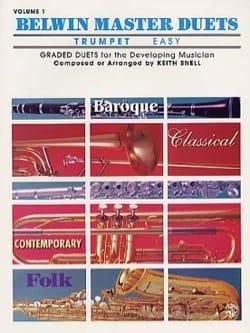Belwin Master Duets Easy Volume 1 Partition Trompette - laflutedepan