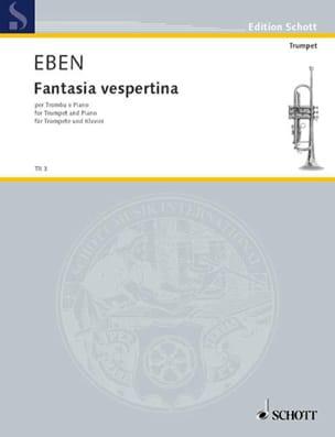 Fantasia Vespertina - Petr Eben - Partition - laflutedepan.com
