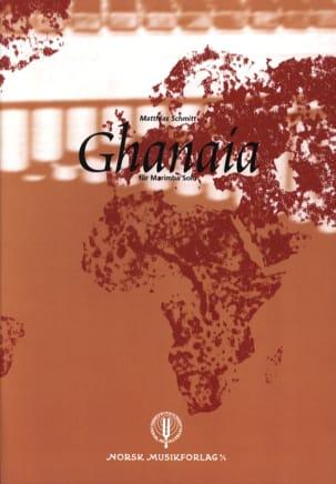 Ghanaia Matthias Schmitt Partition Marimba - laflutedepan