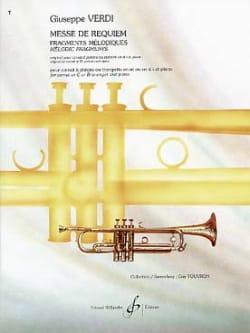 Messe de Requiem VERDI Partition Trompette - laflutedepan